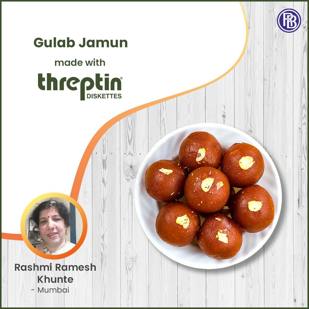 Healthy Gulab Jamun with Threptin