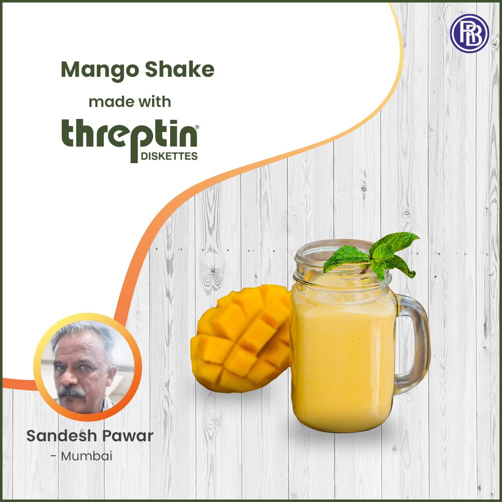 Threptin Mango Shake