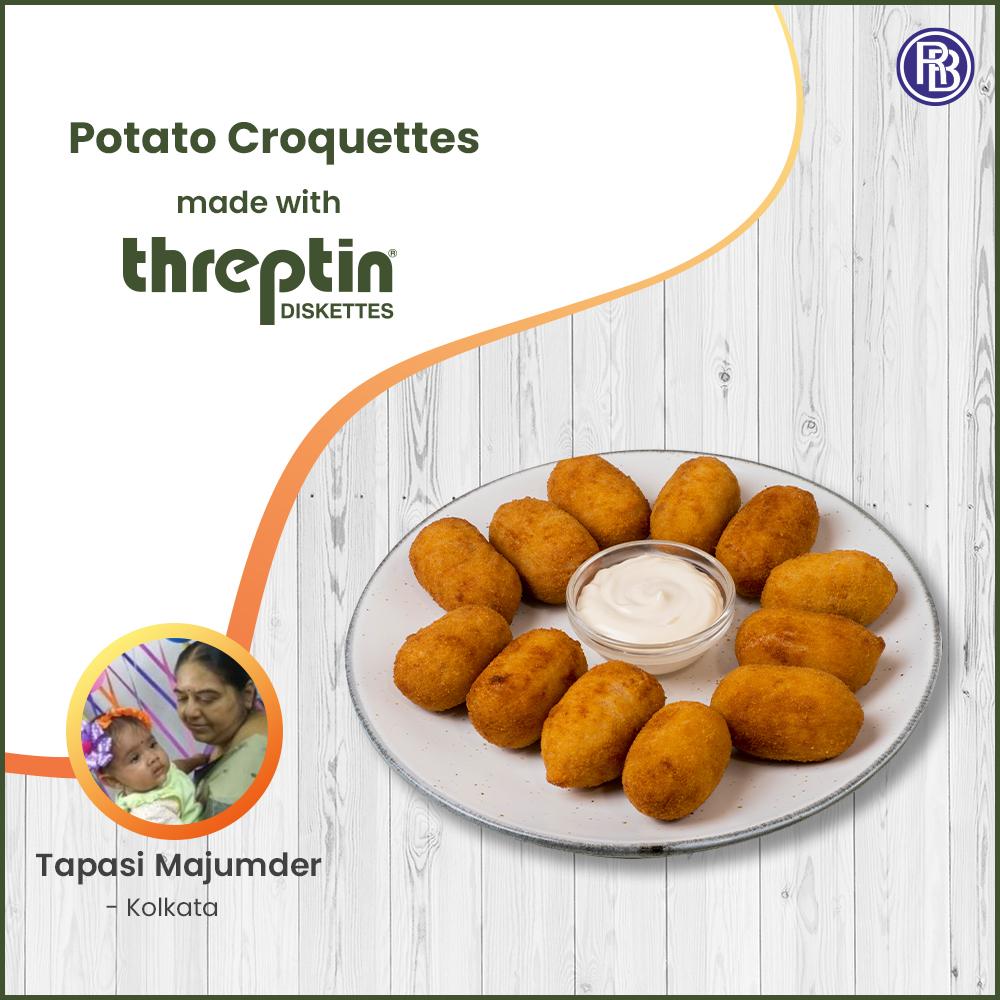Threptin Potato Croquettes