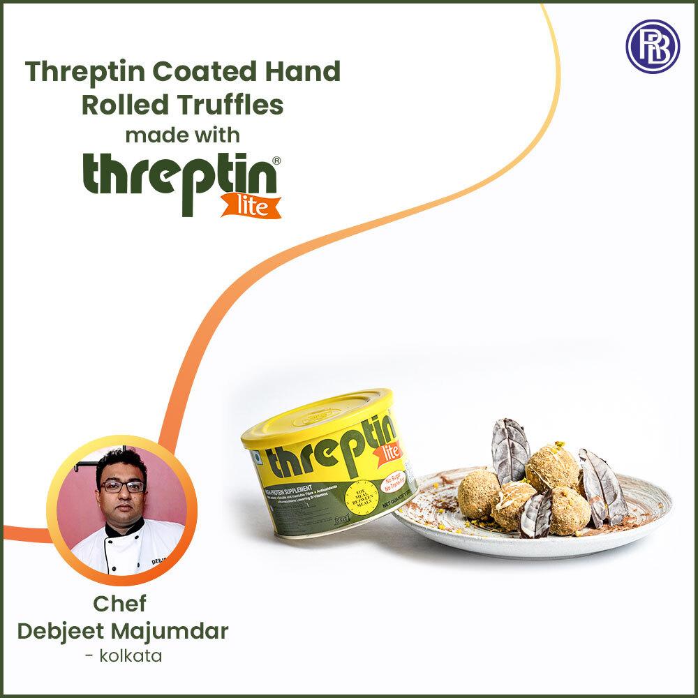 Threptin Coated Hand Rolled Truffles